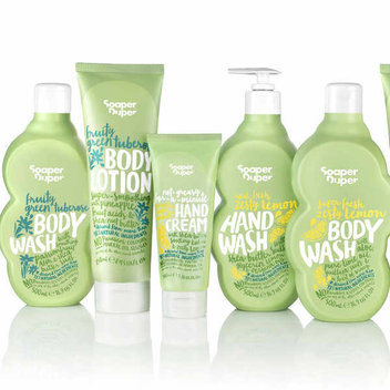 Free Soaper Duper's Zesty Lemon bath & body products