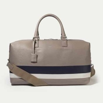Win a Curzon leather stripe holdall bag