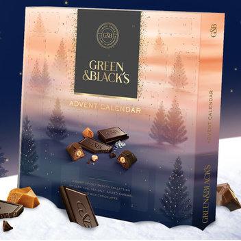 Grab a free Green & Blacks advent calendar