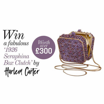 Win a '1926 Seraphina Box Clutch' by Harlem Carter Worth over £300