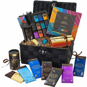 Have a free Green & Black's Hamper Basket