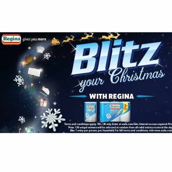 Blitz your Christmas with Regina prizes