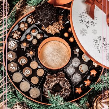 Indulge in a free Hotel Chocolat Christmas Wreath