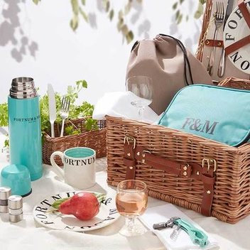 Have a free Fortnum & Mason Picnic Hamper for 2