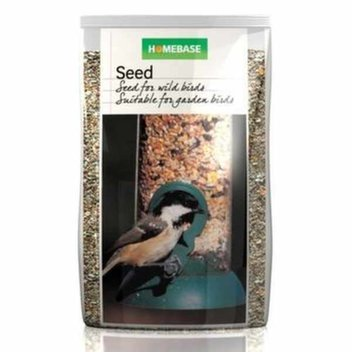 Free bird food from Homebase