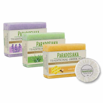 Free sample of Paradosiaka traditional Greek soap