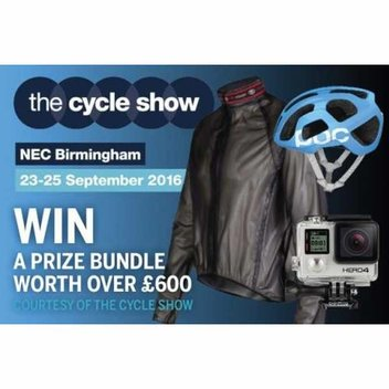 Win a Cycling prize bundle worth over £600