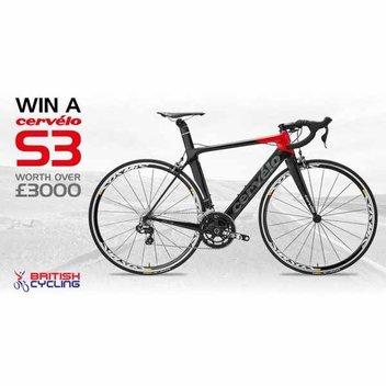 Win a Cervélo S3 worth over £3000