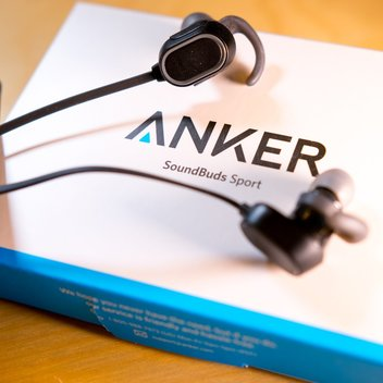 Claim your Anker Spirit Sweatproof Earphones