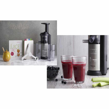 Win a Panasonic Slow Juicer bundle