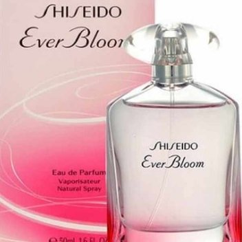 Pick up a free Shiseido Ever Bloom perfume
