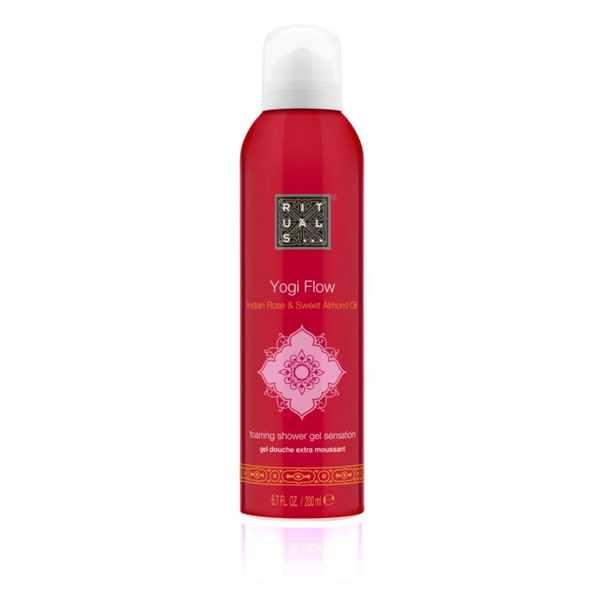 Free samples of Rituals, Yogi flow Foaming Shower gel