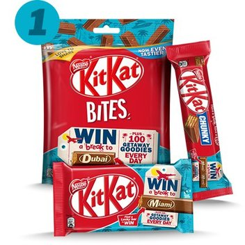 Grab getaway goodies with KitKat