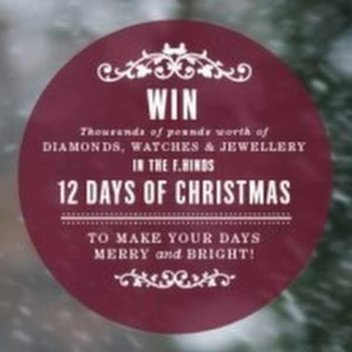 Win thousands of pounds worth of Diamonds, Watches & Jewellery