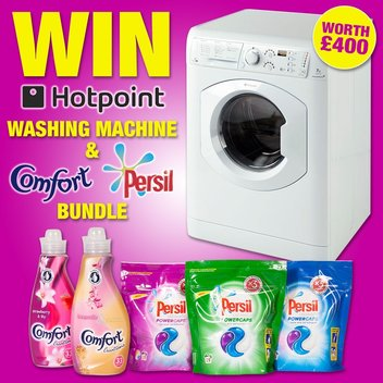 Win a Boyes Hotpoint Washing Machine