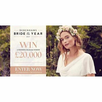 Win a £20,000 Wedding package