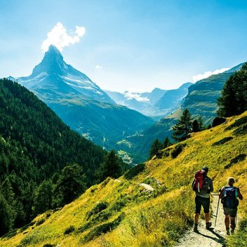 Go on a walking trip in Switzerland worth £2,000