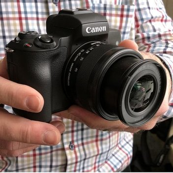 Get a free Canon EOS M50 camera & lens worth £650