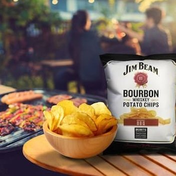 Win an ultimate BBQ package from Burts Chips & Jim Beam