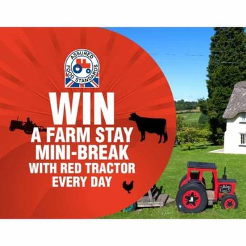 Free farm stay family holidays from Red Tractor