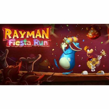 Free game, Rayman Fiesta Run on the App Store