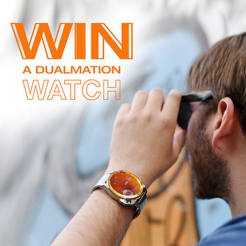 Own a free Dualmation watch