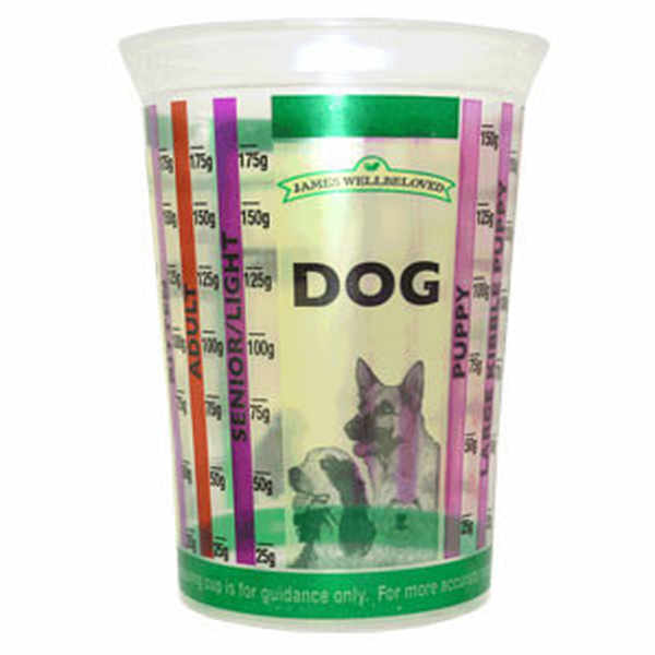 Free James Wellbeloved Pet Food Measuring Cup