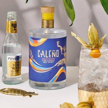 Enjoy a free bottle of theCaleño non-alcoholic tropical free spirit