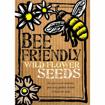 Save the bees with a free pack of wildflower seeds