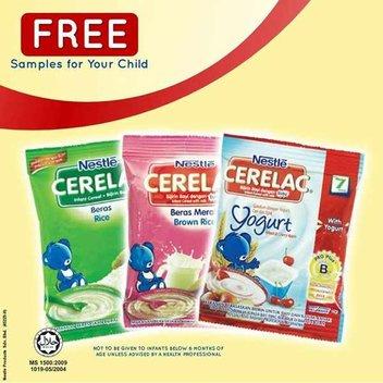 Free CERELAC® samples
