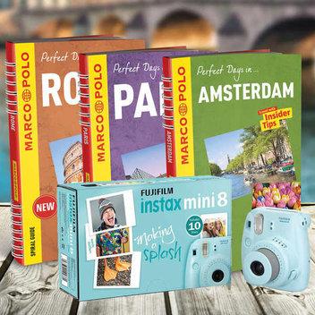 Win a Fujifilm Instax Mini 8 camera