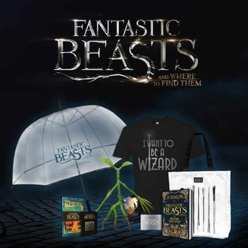 Win exclusive Fantastic Beasts and Where To Find Them goodies