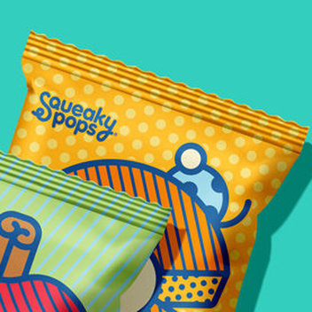 Claim free popped chickpea snacks for kids