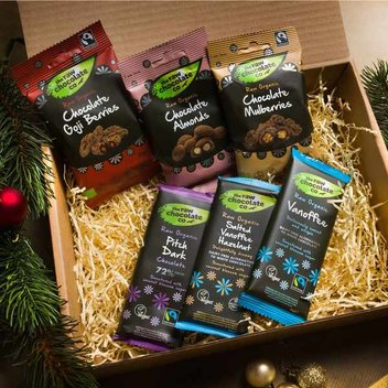 Win a Raw Chocolate Co Raw Chocolate Selection Box
