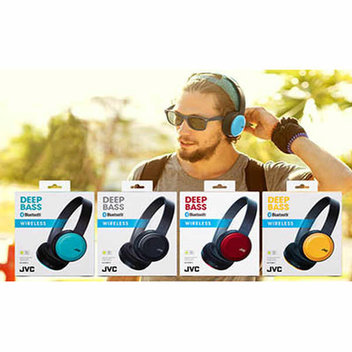 Win 1 of 100 pairs of JVC Wireless Headphones