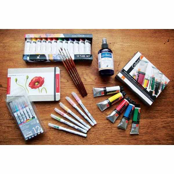 £1,000 worth of art supplies up for grabs