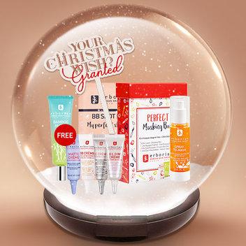 Claim a free Christmas Perfect Skin Bundle