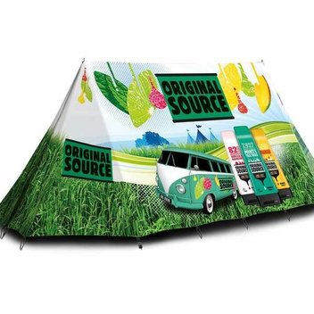 Win festival camping gear with Original Source & Stylist Magazine