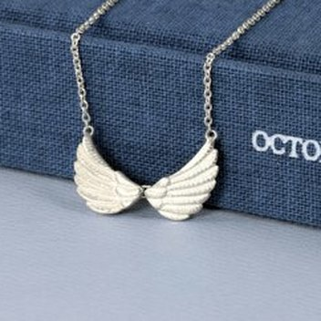 Win a Tiny Double Wing Necklace in Silver from Jana Reinhardt