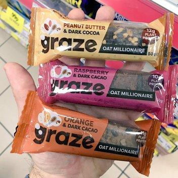 Get your hands on free Graze Bars