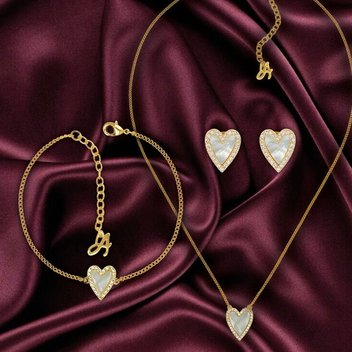 Win a Heart-themed set of jewellery from ADORE
