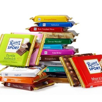 Indulge in a free box of Ritter Sport chocolates