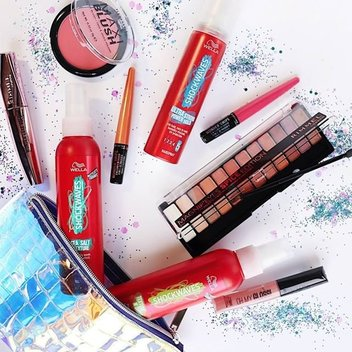 Get a free goodie bag full of Rimmel & Wella products