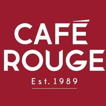Enjoy a 40% off voucher at Café Rouge