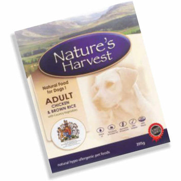 Free sample of Nature's Harvest Dog Food