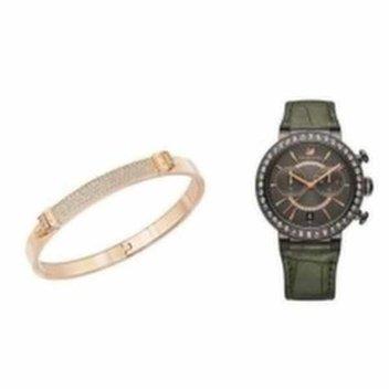 Win a Swarovski Rose Gold Distinct Narrow Bangle and Citra Sphere Gun Metal Watch