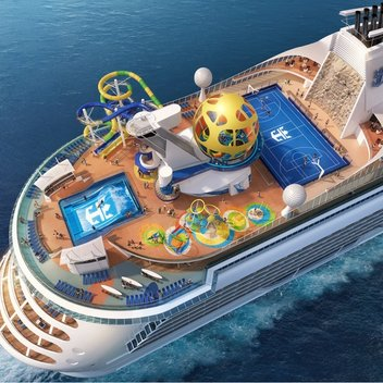 Spend a day on board the Independence of the Seas for free
