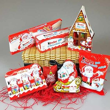 Treat your loved ones to a free Kinder hamper