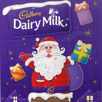 Pick up a free Cadbury Dairy Milk Advent Calendar