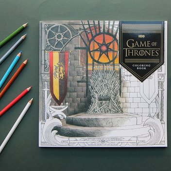 Free Game of Thrones Colouring Book